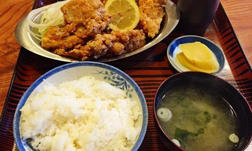 【ファミリーレストラン堀井】ケンタッキーサイズの唐揚げでノックアウト!
