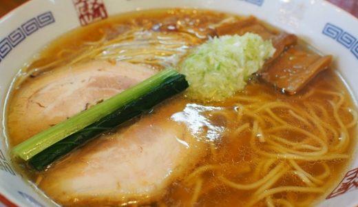 【支那そばや翠月@富山】無化調の身体に優しいラーメン食べました!