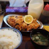 【レストラン堀井@高岡】唐揚げ定食は残してもタッパもらえます!
