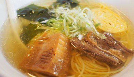 【寿し龍@野々市】猪の出汁を使った回らないお寿司屋さんのラーメン!