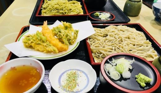 【おんもり庵】地元富山市山田産のそば粉を使用した、人気の手打ち蕎麦やさん!