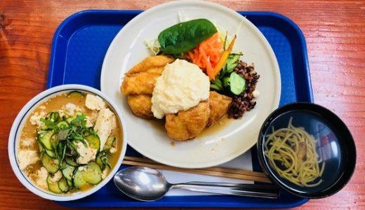 【ジュンブレンドキッチン@高岡】チキン南蛮を夏限定の冷汁とセットで食べてきた!