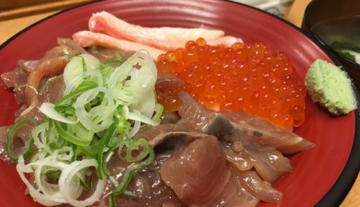 【新湊漁港 きときと食堂】味よし!コスパよし!ボリューム満点の特盛づけ丼