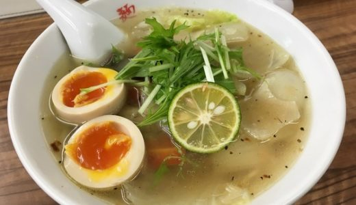 【麺や 福座@金沢】かきシリーズ第2弾は塩!!