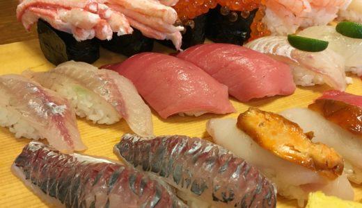【寿司処松の@石川県】デカネタで有名な、人気の廻らないお寿司屋さん