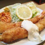 堀井 エビフライ定食