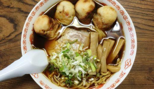 【水上開花堂@富山】たこ焼きラーメンって?!ダンプ松本もびっくりの、おわら風の盆で有名な八尾町の大衆食堂!
