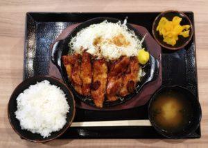 【豚屋とん一】イオンモール高岡西館フードコートの新店でトンテキ定食を食べてみた!