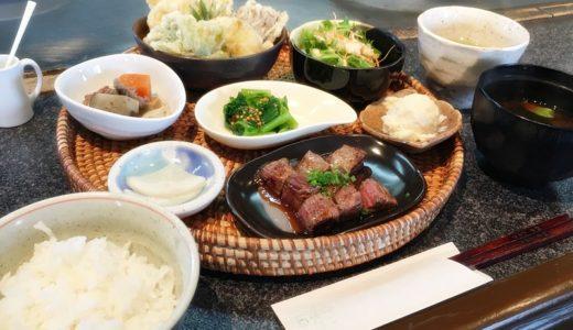 【風雅堂@富山市月岡】小鉢たくさんの旬菜ランチが1000円とお得で大人気!+500円のステーキ増量が魅力的でした♪