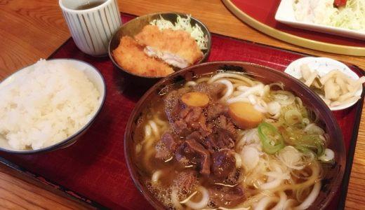 【風月食堂】もつうどんが美味しい高岡市戸出の老舗食堂