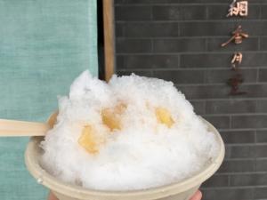 引網香月堂 かき氷